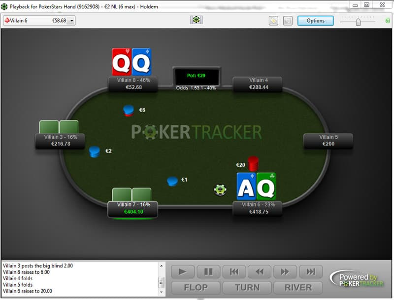 poker tracker 4 hand replayer