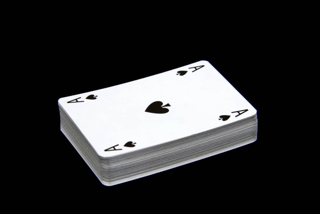 playing pocket aces