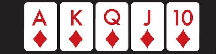 best poker hand royal flush