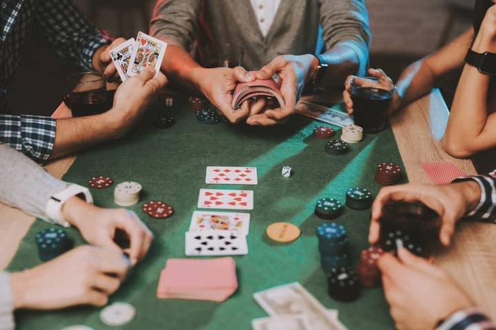 beating poker raked game