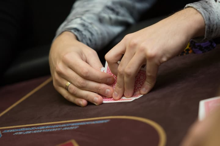 playing poker for a living