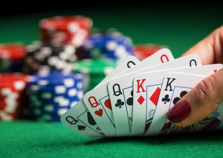 Dead mans hand in poker