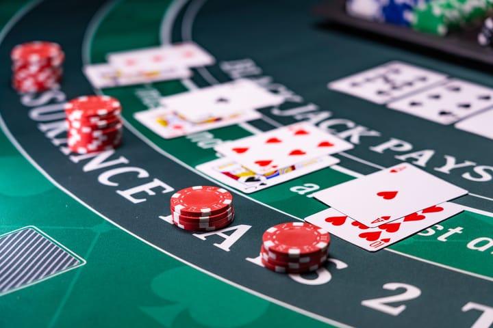 Blackjack features low house edge